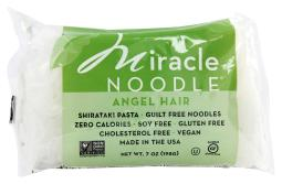 Miracle Noodle Pasta - Shirataki - Miracle Noodle - Angel Hair - 7 oz - case of 6