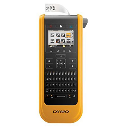 Dymo 1868814 dymo xtl 300 label maker kit, qwerty, 1in, black and yellow, including: xtl300 p