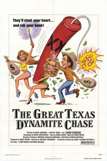 Great Texas Dynamite Chase Movie Poster (11 x 17) 701850