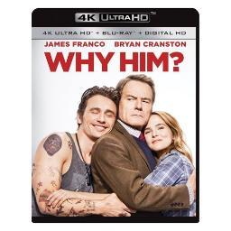Why him (blu-ray/4k-uhd/digital hd/movie cash for snatched) BR2333149
