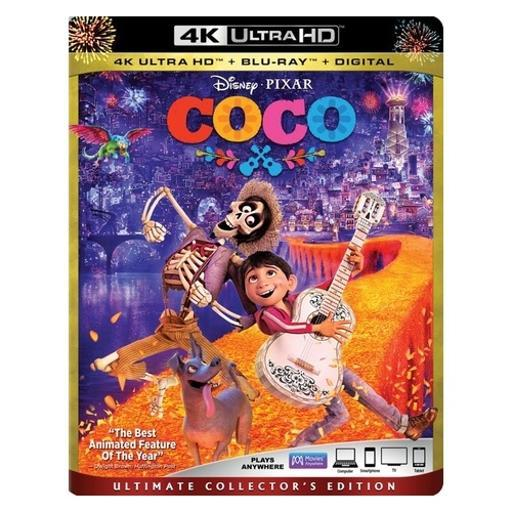 Coco (2017/blu-ray 2/4k-uhd/digital hd/ultimate collectors edition) FQMCMJ5IFQMVPMBC