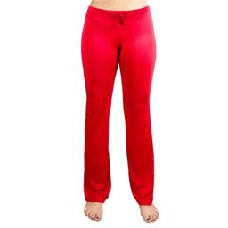 BrybellyHoldings SYOG-821 Small Red Relaxed Fit Yoga Pants