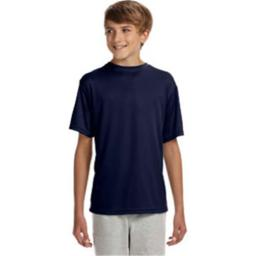 A4 NB3142 Youth Cooling Performance Crew - Navy, Large