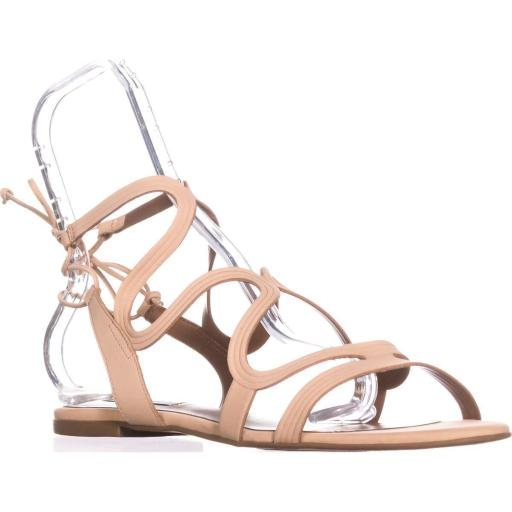 Steve Madden Cece Lace Up Gladiator Sandals, Nude UMFWQ5G7ZDH2ROWO