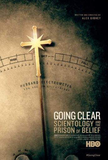 Going Clear Scientology and the Prison of Belief Movie Poster (11 x 17) UBNATFMYTTLOOV0F