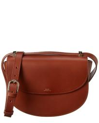 A.P.C. Sac Geneve Leather Crossbody