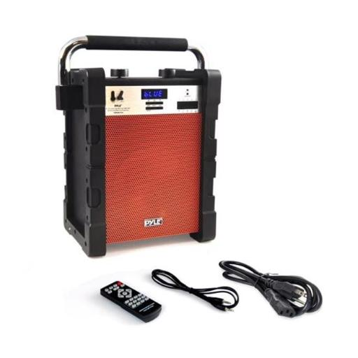 Sound Around Pyle Industries PWMABT550OR Bluetooth Wireless Rugged & Portable Speaker System