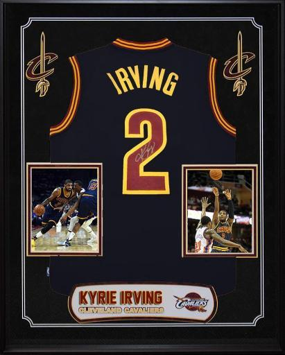 Kyrie Irving - Signed Cleveland Cavaliers NBA Basketball Jersey