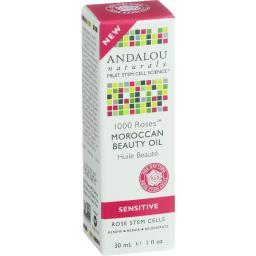 Andalou Naturals Moroccan Beauty Oil - 1000 Roses - 1 Oz