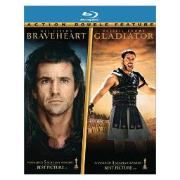 Braveheart/gladiator (blu ray/double feature) (4discs/ws) BR59187849