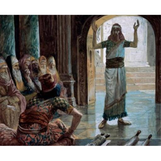 Posterazzi SAL999358 Daniel & the Wise Men James Tissot 1836-1902 French Jewish Museum New York City Poster Print - 18 x 24 in.