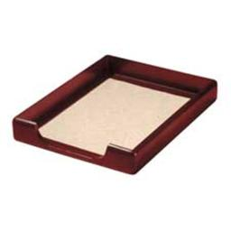 Rolodex Corporation ROL23350 Wood Tray- Letter- Front Load- Mahogany