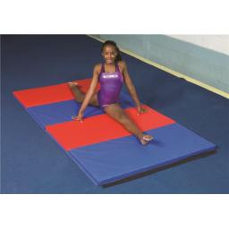 Cando 38-0091 Accordion Mat - 2 in. PU Foam with Cover, Specify Alternating Colors - 5 x 4 ft.
