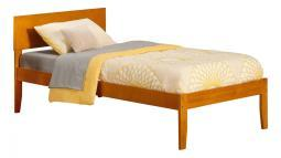 Orlando Twin Xl Bed In Caramel Latte