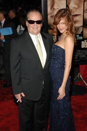 Jack Nicholson, Paz De La Huerta At Arrivals For The Departed Premiere, Ziegfeld Theatre, New York, Ny, September 26, 2006. Photo By William D.