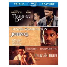 John q/pelican brief/training day (blu-ray/tfe) BR304416