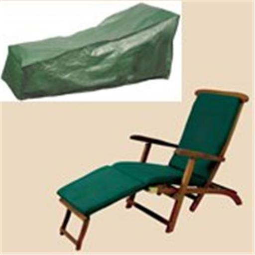 Bosmere C567 - Chaise Steamer Cover - Green