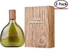 AGUA BRAVA by Antonio Puig COLOGNE 17 OZ (Package Of 2)
