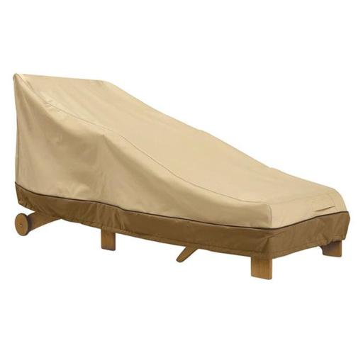 Classic Accessories 55-623-011501-00 Large Chaise Cover, Pebble