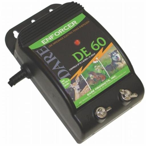 Dare Products Inc Electric Fence Controller- Black 10 Mile - DE 60