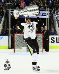 Evgeni Malkin with the Stanley Cup Game 6 of the 2016 Stanley Cup Finals Photo Print PFSAATD06801