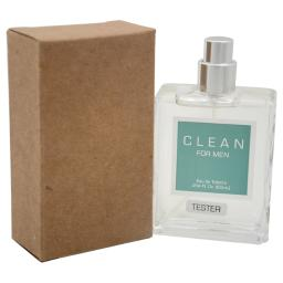 Clean By Clean For Men - 2.14 Oz Edt Spray (Tester)
