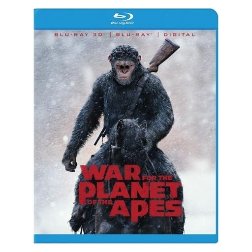 War for planet of the apes (blu-ray/3d/digital hd) (3-d) C1MB5J8N3Q130F3T