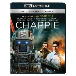 Chappie (blu-ray/4k-uhd/mastered/ultraviolet/2 disc) BR47043