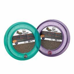 BERGAN 70130 Assorted BERGAN STARCHASER TURBOSCRATCHER CAT TOY ASSORTED 16 X 16 X 1.88