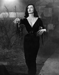 Plan 9 From Outer Space Vampira 1959 Photo Print EVCMBDPLNIEC009HLARGE