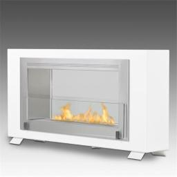 Eco-Feu WS-00139-SW Montreal 2 Sided Burner, White