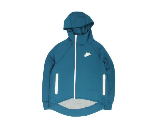 Nike Sportswear Tech Fleece Full Zip Cape Blue Force Women's Hoodie 930757 474