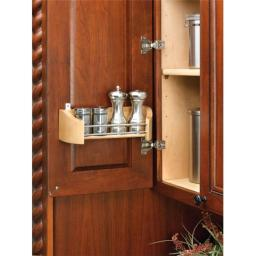 Rev A Shelf Rs4231.14.52 14 In. Door Storage Single Tray With Screw-In Clips Sink And Base Accessories