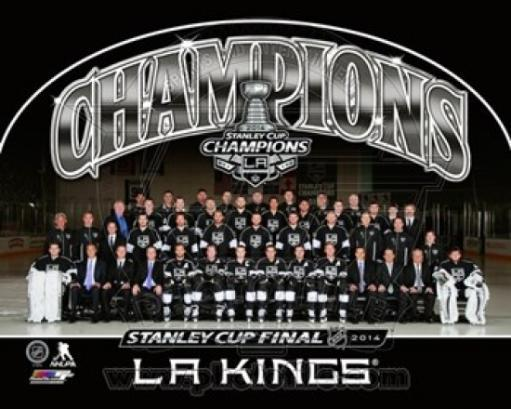 Los Angeles Kings 2014 NHL Stanley Cup Champions Team Sit Down Photo Sports Photo WO6BGQMQXBM92N0P