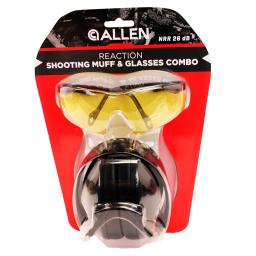 Allen cases 2316 allen cases 2316 reaction shooting muff & glasses combo