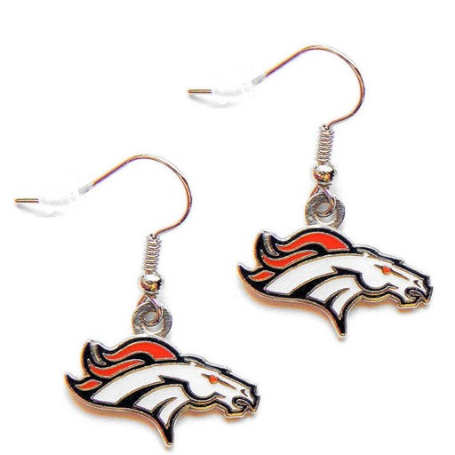 NFL Denver Broncos Logo Dangle Earring Set Charm Gift