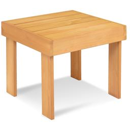 Wooden Square End Side Accent Table