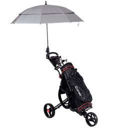 Lightweight Foldable Golf Cart with Adjustable Push Handle