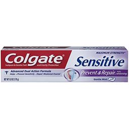 Colgate Sensitive Prevent and Repair Toothpaste, 6 Ounce