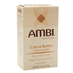 Ambi Cocoa Butter Cleansing Bar 3.5 oz (Pack of 2)