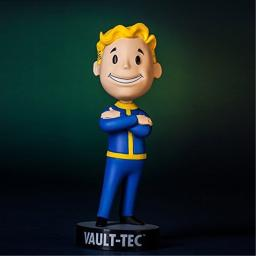 """Fallout 3: Vault Tec Pip Boy Arms Crossed Bobblehead Figure Toy - 5"""""""