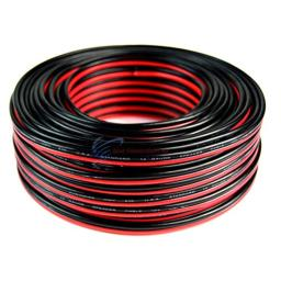 14 Gauge 100 Feet Speaker Wire Red Black Zip Cable Copper Clad Car Stereo
