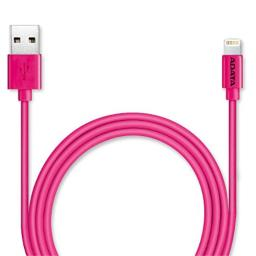 ADATA MFi Certified Lightning Cable for iphone, ipad, Pink (AMFIPL-100CM-CPK)
