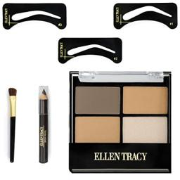 Ellen Tracy Eyebrow Architect Kit, 4 pcs