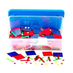 Learning Resources Magnetic Algebra Tiles, Algebraic Math Skills, Magnets for Any Magnetic Surface, 72 Piece Set, Ages 11+