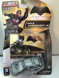 NASCAR 2016 Authentics 1/64 1:64 - Batman vs Superman: Dawn of Justice Dale Earnhardt Jr #88 Batman Edition #4 of 4 1/64 Scale Diecast Authentics with One in a Series of Four Collector Cards