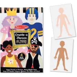 Create-a-Person Pad (Pack Of 1)