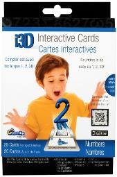 Cypher Kids I3D Interactive Cards Numbers