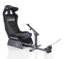 Playseat Evolution Project Cars Edition Racing Video Game Chair for Nintendo Xbox Playstation CPU Supports Logitech Thrustmaster Fanatec Steering Wheel and Pedal Controllers