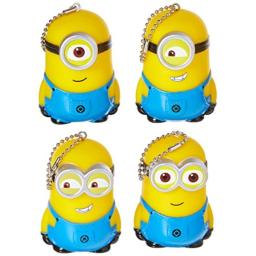 Despicable Me 2 the Minions Display Toy Yellow 4 Piece Set